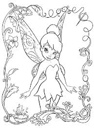 coloring pages disney fairies tinkerbell coloring page crayola com