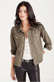 true religion affordable true religion nora jacket faded olive jackets womens