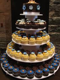 Fileorange Blue Brown And White Wedding Cupcake Tower Montreal