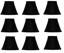 6 chandelier shades black with gold lining silk chandelier shades 6 inch diameter that clips onto