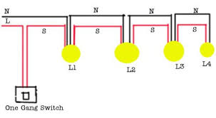 wiring diagram for multiple lights one switch wiring wiring how to wire multiple lights one switch diagram