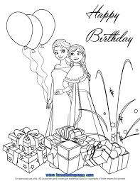 Small Picture Frozen Coloring Page Birthday Card Archives Mente Beta Most