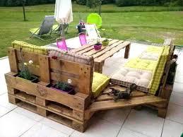 wooden pallet furniture. Wood Pallet Lawn Furniture Patio Wooden Garden S