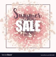 Print Web Design Summer Sale Background For Print Web Design And