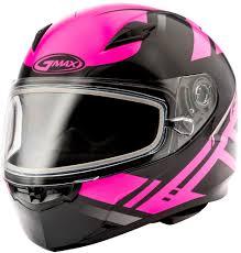 Gmax Womens Ff49 Ff 49 Berg Snowmobile Helmet With Dual Pane Shield