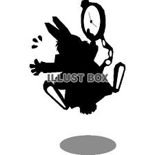 無料イラスト リクエスト素材 不思議の国のアリスのウサギ4