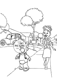 Small Picture Sid and Mom coloring pages for kids printable free Sid and