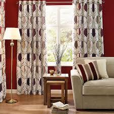 lalique wine lined eyelet curtains dunelm