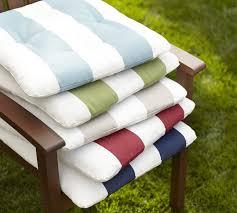 tufted sunbrella outdoor dining chair cushion stripe pottery barn with patio cushions plans 3