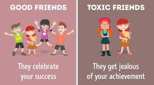 differences between good friends and toxic friends