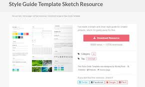 Style Templates Free Styleguide Templates For Your Web Projects 1stwebdesigner