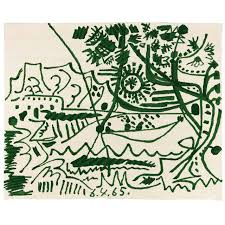 mougins rug from pablo picasso for