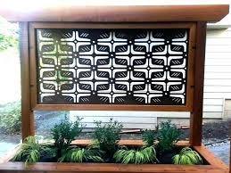 metal privacy screens garden best outdoor panels ideas on wall pri privacy screen panels outdoor