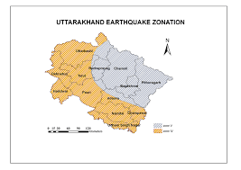 If you are interested in india and the geography of asia our large laminated map of asia might be just what you need. Earthquake Zone Disaster Mitigation And Management Center Government Of Uttarakhand India