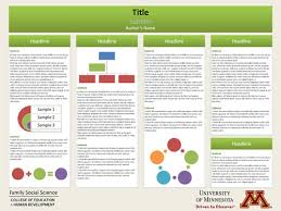 education poster templates scientific poster presentation template free download academic