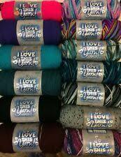 I Love This Yarn By Hobby Lobby 7 Oz Tropical Pink 5 Oz