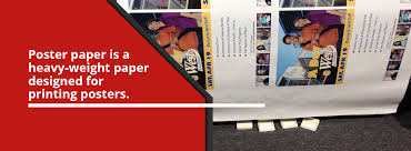 Your choice of poster paper stock will depend on the thickness you need, along with the effect of. Poster Paper Signage Material Options Speedpro