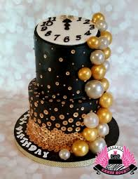 Bubbly New Years Eve Birthday Cake Cake By Cakes Rock Cakesdecor