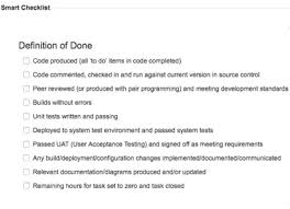 check list example smart checklist for jira ideal for todo definitions of