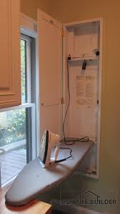this ironing board was installed when the house was built you can add one in