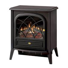freestanding compact electric stove in matte black