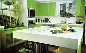 Perfect Kitchen Color Decorating Ideas Green 1216880107 On