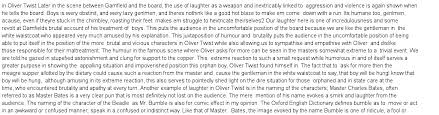 analysis of dickens use of irony satire and humour in oliver essay preview