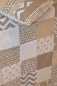 Baby Herringbone Quilt- Neutral Baby Blanket- Mint, Gray, and ... & Neutral patchwork baby quilt Adamdwight.com
