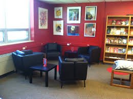 reading corner furniture. ikea furniture in the reading corner at south east junior high library iowa city