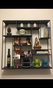 wall shelves crate barrel 76x76cm