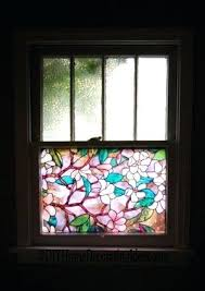 stained glass windows for homes using decorative window at home stained glass window treatment home