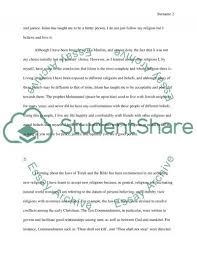 revelation of religion essay example topics and well written revelation of religion essay example