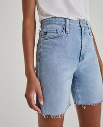 The Etta Short in Blue Oasis at AG Jeans Official Store