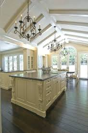kitchen lighting ideas vaulted ceiling. Vaulted Ceiling Lighting Beams Kitchen Traditional With Natural Light . Ideas