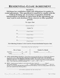 Download Free Michigan Residential Lease Agreement Printable Lease