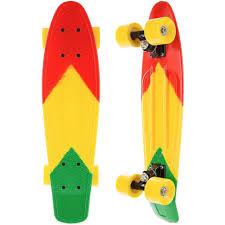 <b>Скейтборд MaxCity Plastic</b> Board small COLOR купить в интернет ...