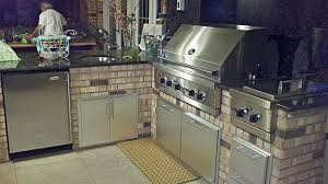Artistic Design NYC Fireplaces And Outdoor Kitchens - Bull outdoor kitchen