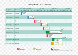 Png Black And White Library Gantt Templates To Instantly