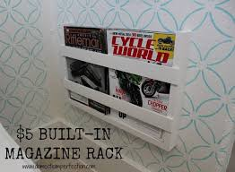 Built In Magazine Holder