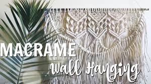 Free Macrame Patterns Amazing HOW TO DIY Macrame Wall Hanging YouTube