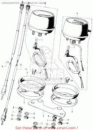 1980 honda cb750 wiring diagram wiring diagram database honda cb500k1 four usa speedometer tachometer cb500