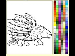 Small Picture Porcupine Coloring Pages For Kids Porcupine Coloring Pages YouTube