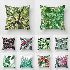 soft throw pillows. Delighful Throw 45cm45cm Super Clear Fresh Green Leaves Super Soft Throw Pillow Covers  Couch Cushion Intended Soft Throw Pillows H