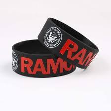 Wide Version Punk Rock <b>Band</b> Ramones <b>Silicone Bracelets</b> ...