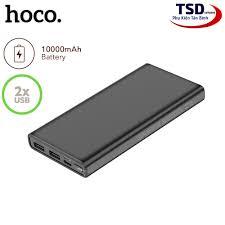 Pin Sạc Dự Phòng Hoco J55 10000mAh Dual USB Chính Hãng