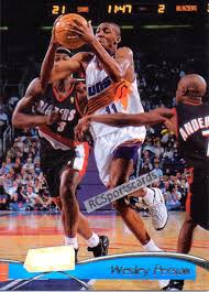 1997-98 Wesley Person, Suns Itm#N4745