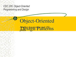 Object Oriented Design Patterns Amazing Ideas