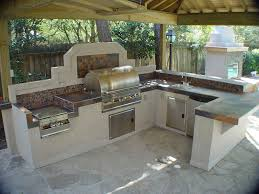 outdoor kitchen plans and designs