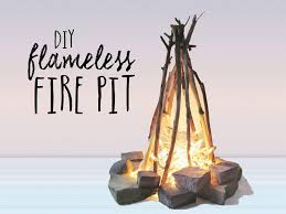 natural and easy firepit
