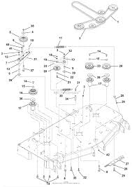 Gravely pro master 260h parts diagram for